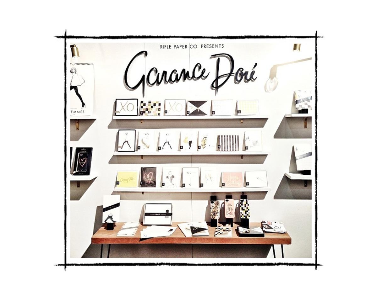 Garance Doré signe une ligne de papeterie