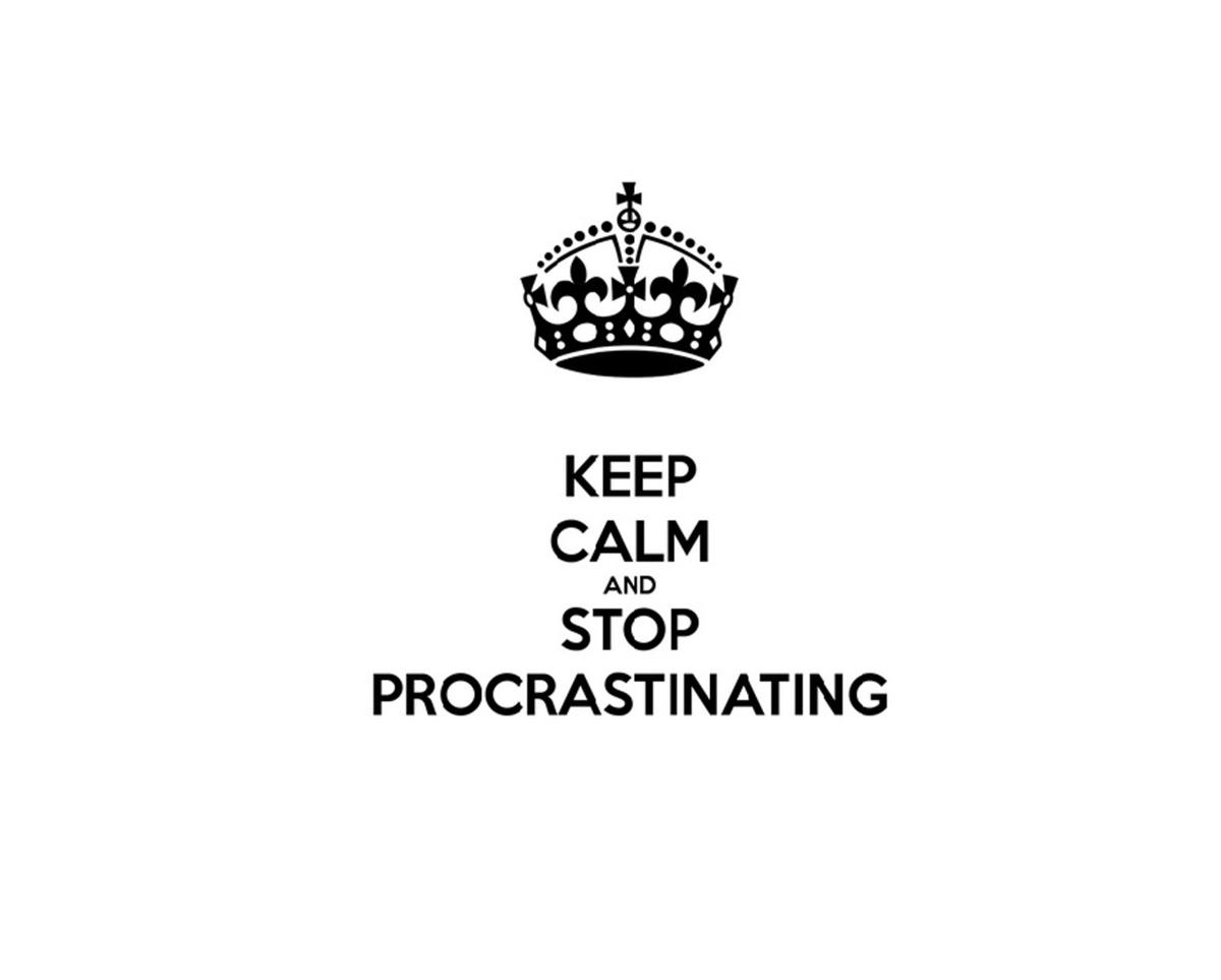 Petit arsenal de lutte anti-procrastination