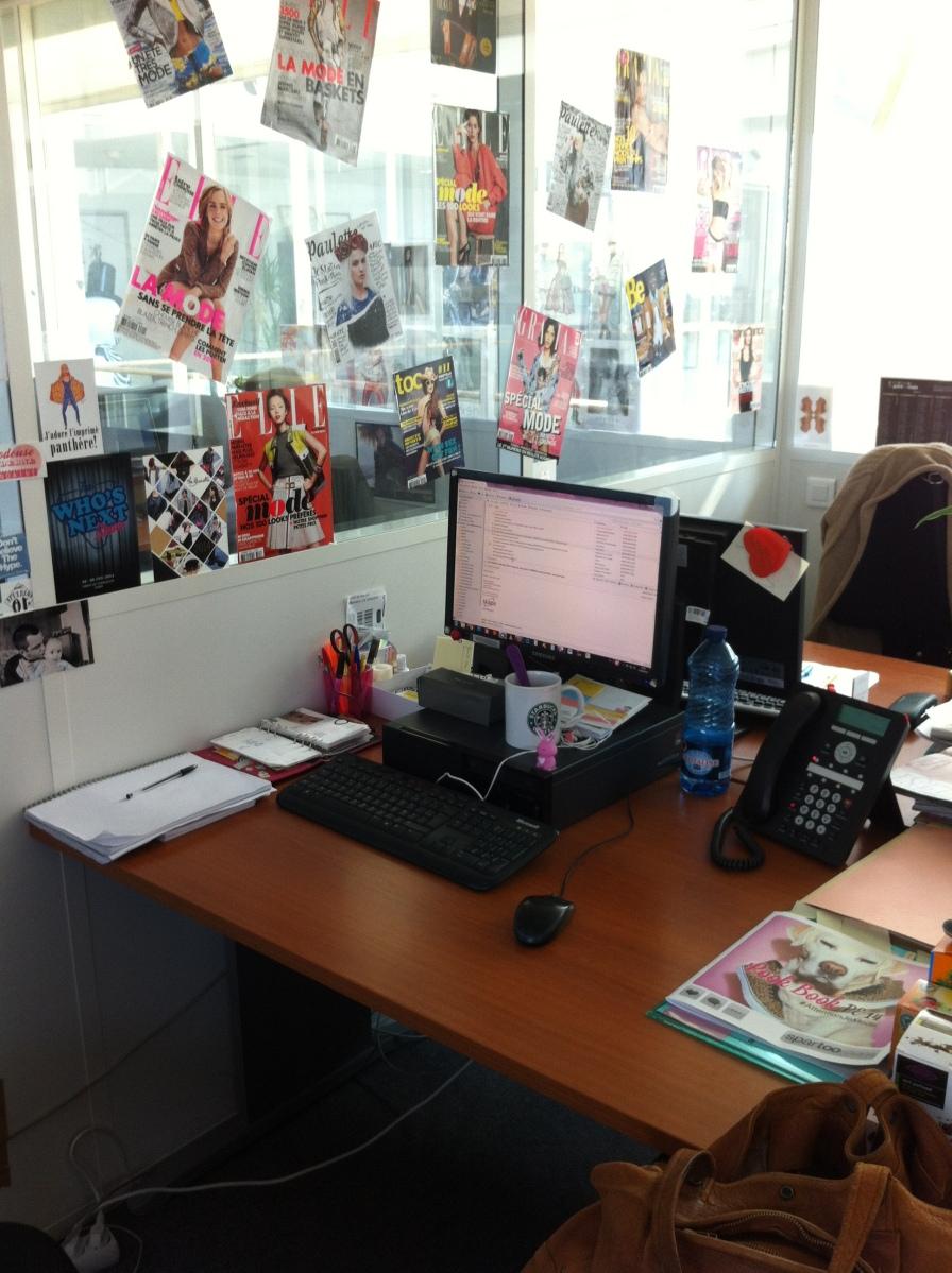 Le bureau de Céline