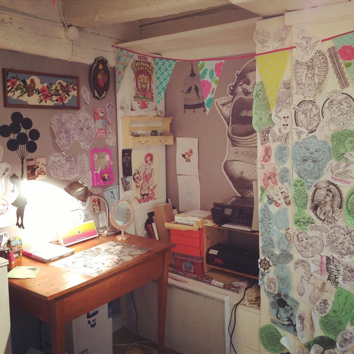 Le bureau de Morgane