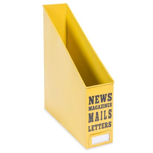 Range-documents en métal jaune YELLOW SUMMER, Maisonsdumonde.com