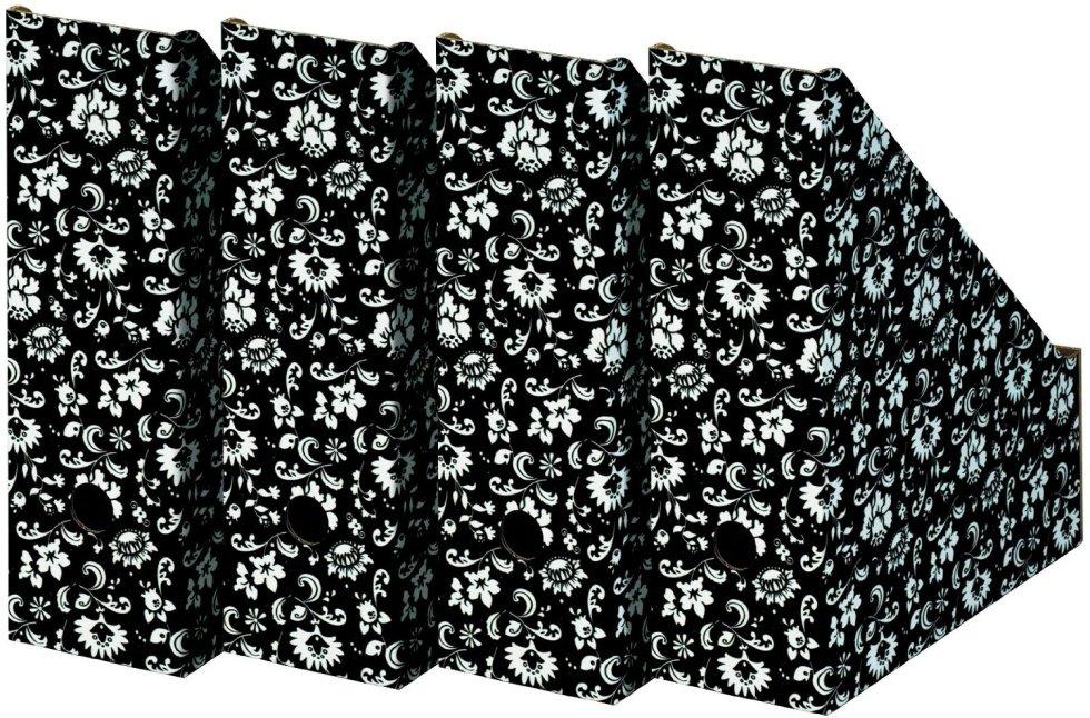 Porte-revues Noir/blanc Nips, Amazon.fr