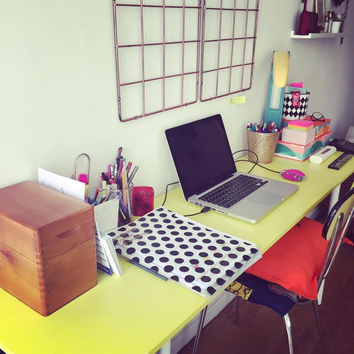 Le nouveau bureau, enfin !