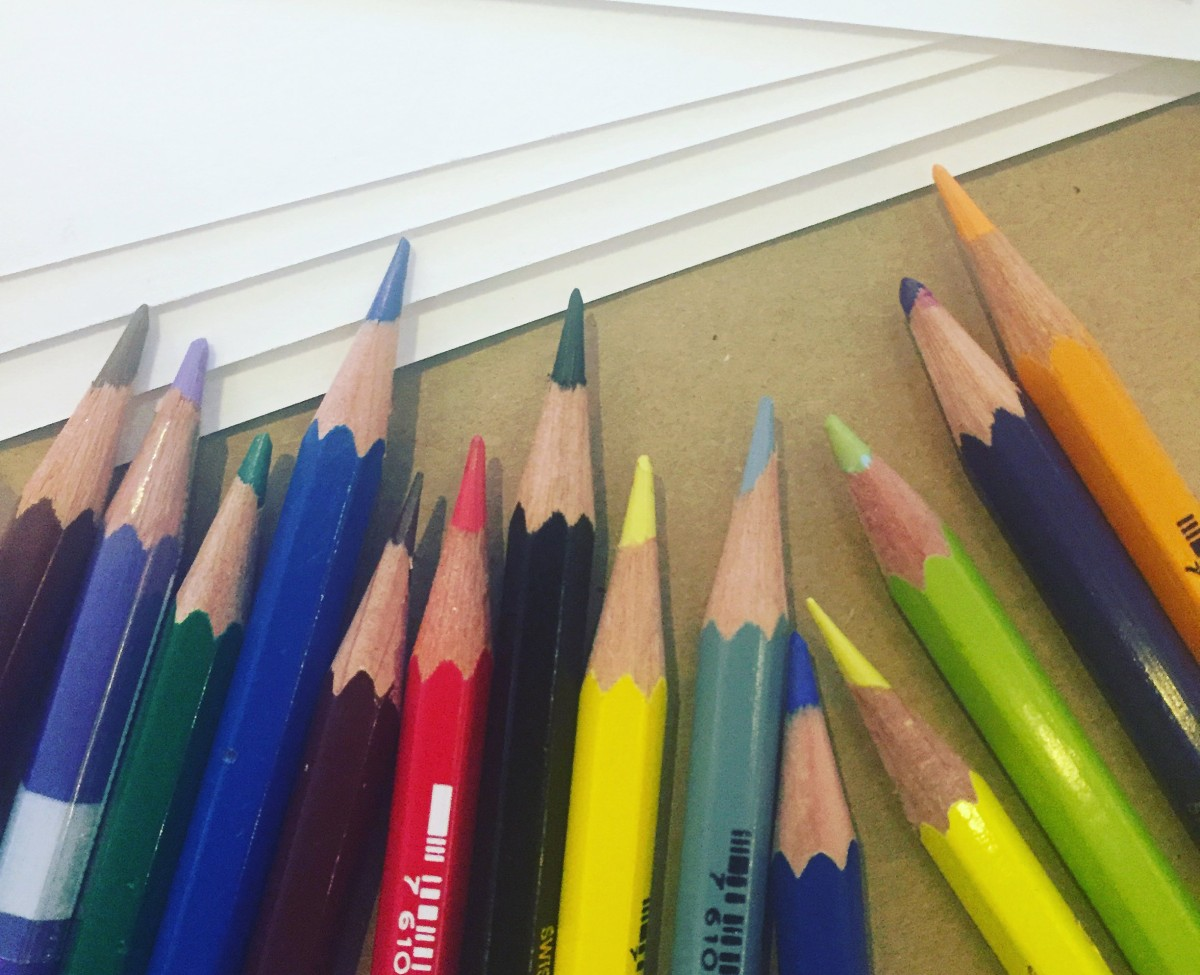 Caran d'Ache : quelques crayons, des centaines de possibilités !