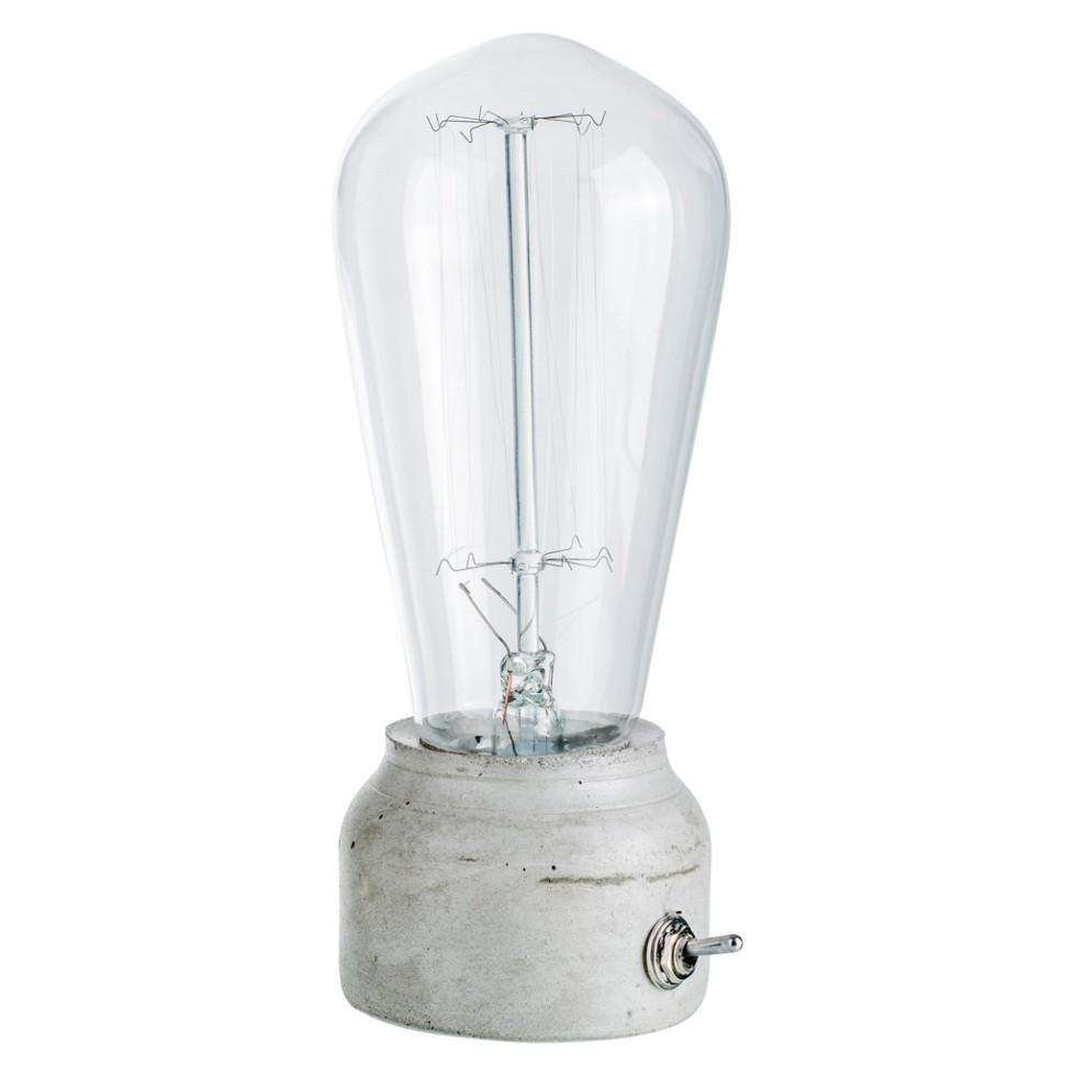 Lampe de bureau Pure Mold Vertical grise