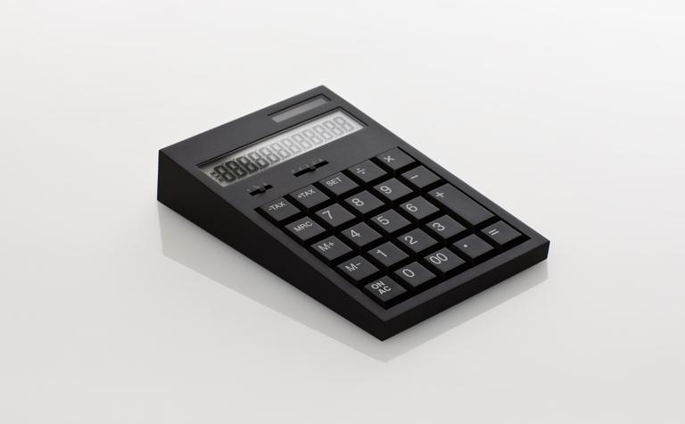 Calculatrice Ruber Calculator par Hironao Tsuboi