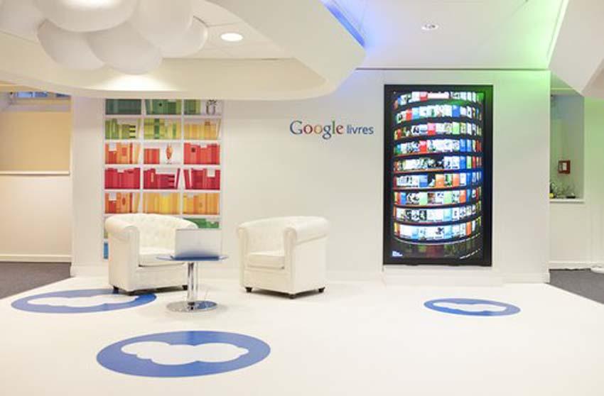 Les locaux de Google à Paris