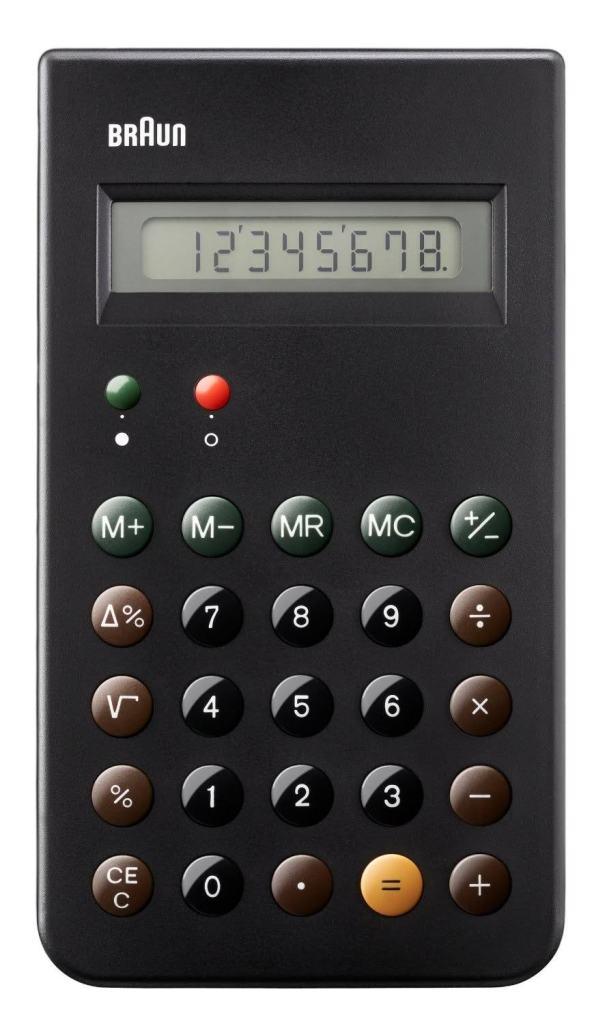 Calculatrice Braun