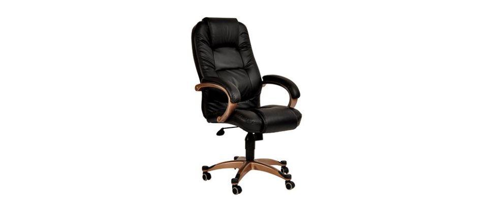 Fauteuil chaise de bureau noir Toronto