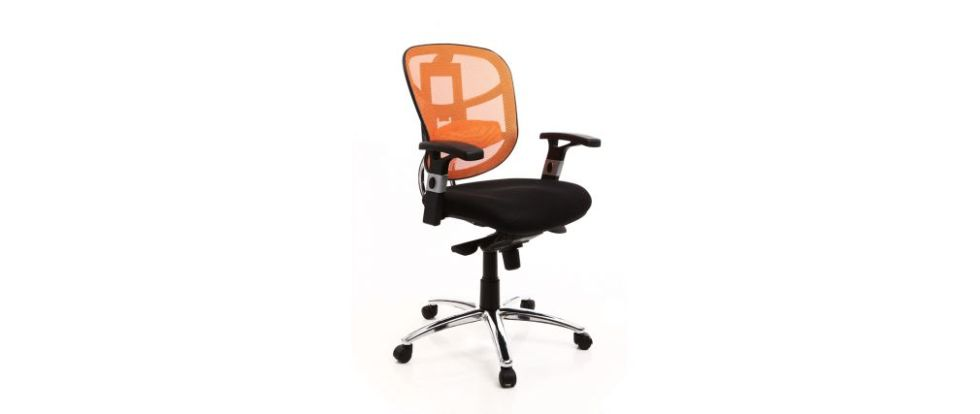 Fauteuil noir et orange Up to You