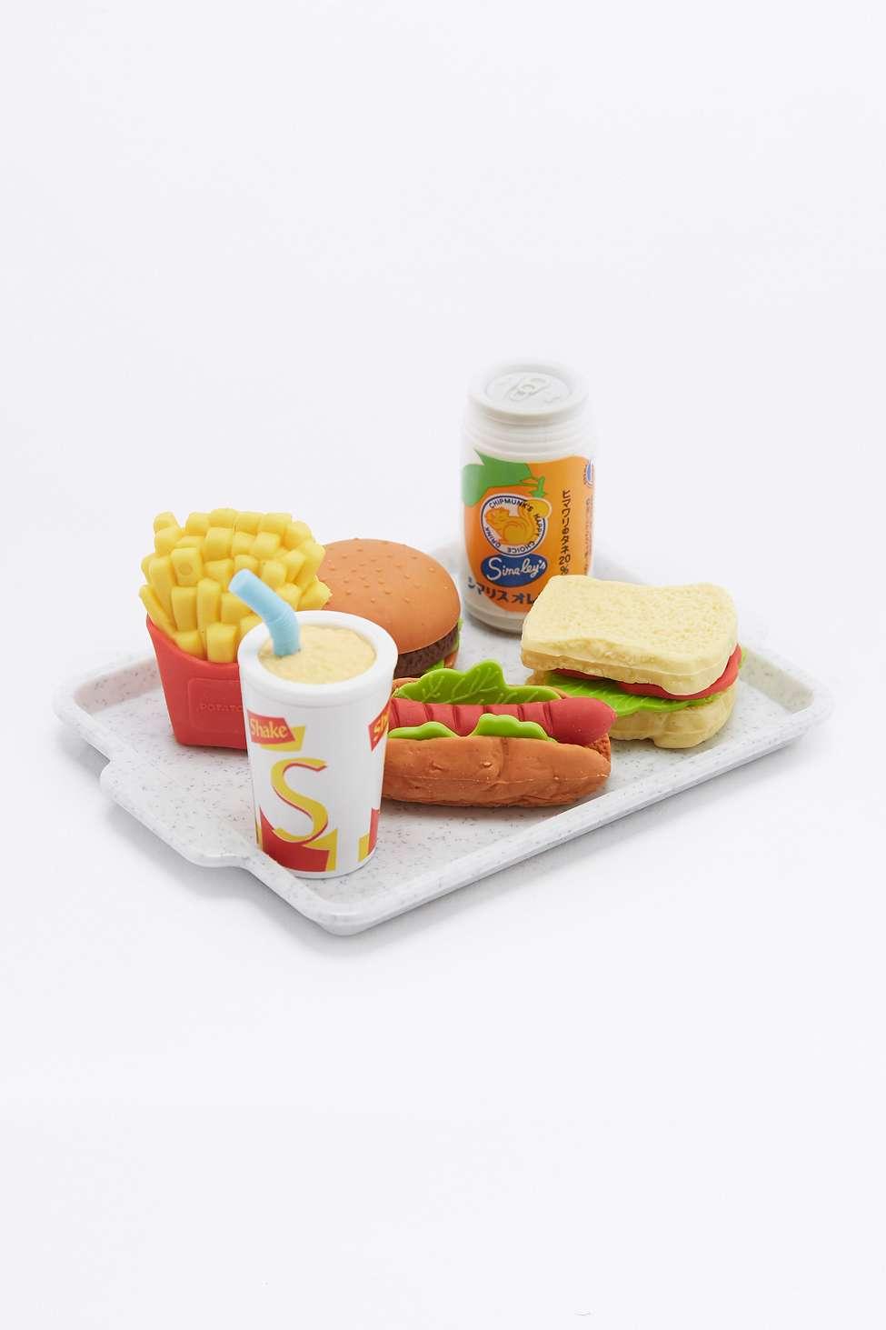 Mini gommes fast food